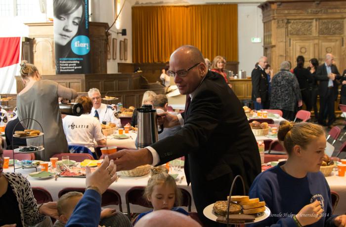 Ontbijt – Nationale Hulpverlenersdag 2014